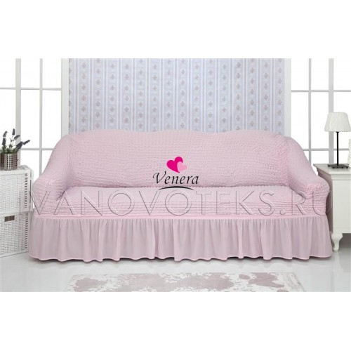 207 Чехол на диван розовый