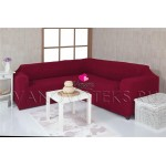 Чехлы на угловой диван без оборки (8)
