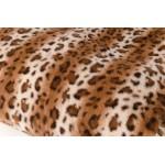 Плед кролик короткий ворс леопард