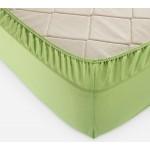Простынь на резинке ярко-зеленый