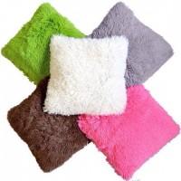 Пушистые наволочки для подушек