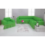 Чехол на угловой диван и кресло 224