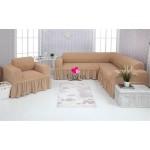 Чехол на угловой диван и кресло 230
