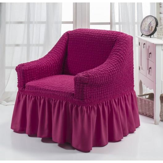 Чехол на кресло фуксия