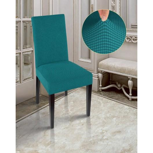Чехлы на стулья комфорт бирюза
