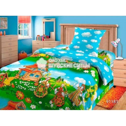 Постельное белье детское Мамино Счастье Бязь  91181