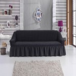 Чехол на диван темно-серый