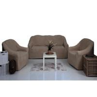 Чехлы на диван и кресла плюшевые