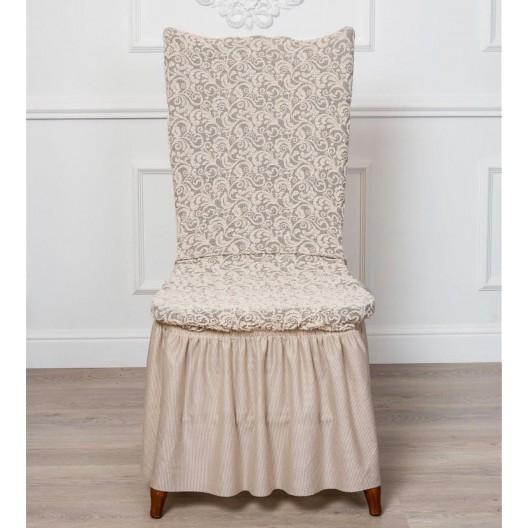 Чехол на стул жаккард модель 1