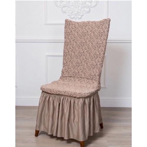 Чехол на стул жаккард модель 2