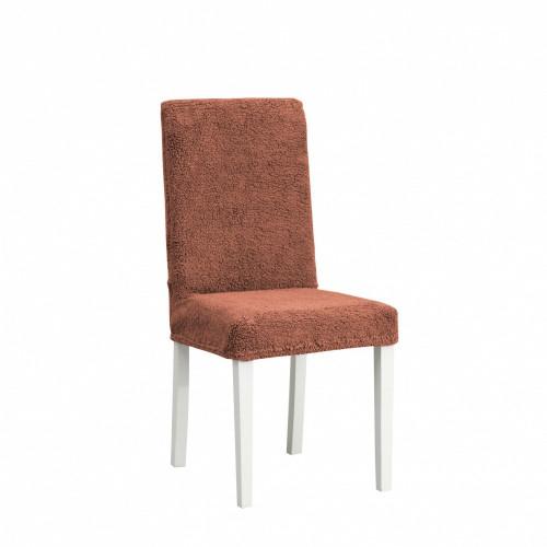 Чехлы на стулья плюшевый шоколад