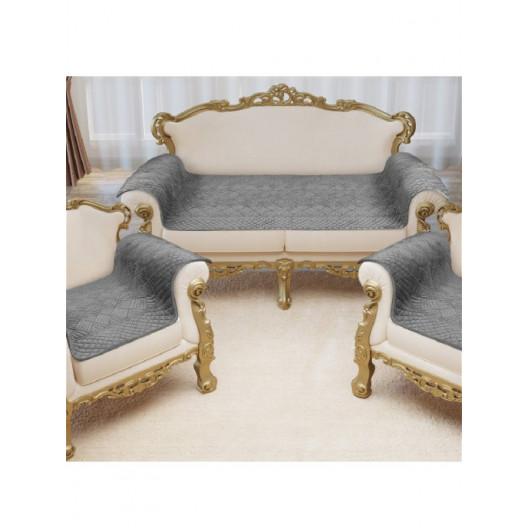 Накидка на диван и кресла Savanna D3 (Серый)