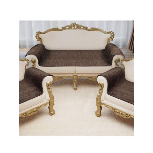Накидка на диван и кресла Savanna D3 (Шоколад)