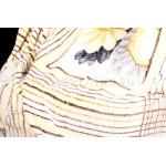 Плед бамбук цветы желтые