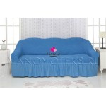 226 Чехол на диван синий