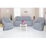 216 Чехлы на диван и два кресла серый