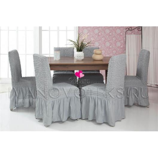 Чехлы на стулья серый (Арт. 216)