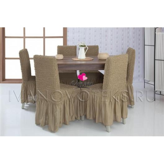 Чехлы на стулья темно-оливковый (Арт. 220)