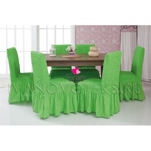 Чехлы на стулья салатовый (Арт. 224)